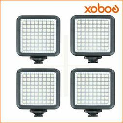 Godox LED 64 Continuous On Camera LED Panel light,Portable D