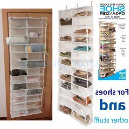 Household Essentials Over The Door 24 Packet Shoe Storage Or
