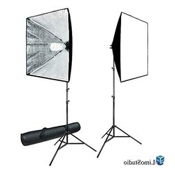 LimoStudio 700W Photo Video Studio Soft Box Lighting Kit, 24