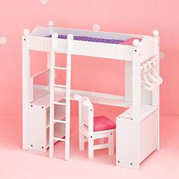 Olivia's Little World - Princess College Dorm Double Bunk De