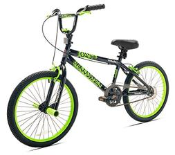 Razor High Roller BMX/Freestyle Bike, 20-Inch, Black/Green