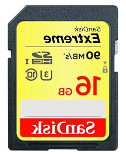 SanDisk Extreme 16GB SDHC UHS-I Card