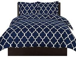 Utopia Bedding Printed Duvet Cover Set  - Hotel Quality Luxu