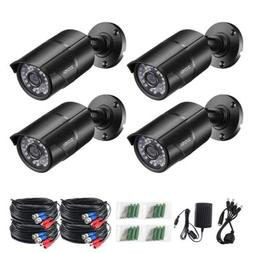 ZOSI 4 PACK 720P 4in1 HD Camera Outdoor CCTV Home Security S