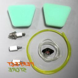 "Air & Fuel Filter Kit For Craftsman 18 inch 42cc Poulan 18"""