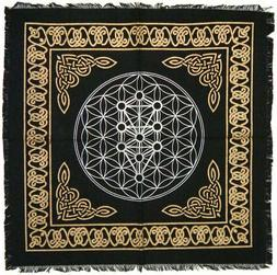 Altar Cloth 18x18 inch: Kabbalah Tree of Life