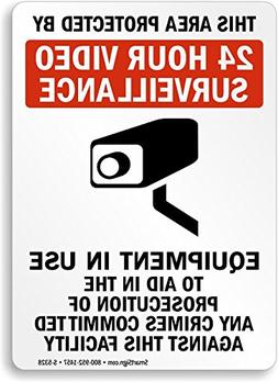 This area Protected by 24 hour video surveillance Equipment