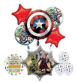 Mayflower Products Avengers Birthday Party Supplies and Ball