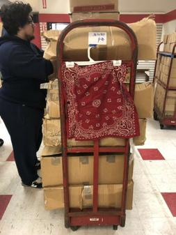 Bandanna Skirt Wrap 18 Inch Long Red Small Medium Large