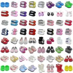 Beautiful Doll Shoes Fits 18 Inch Girl Doll and Other 18 Inc