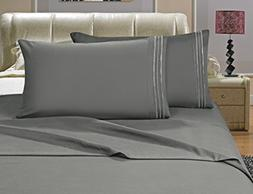 Elegant Comfort 4-Piece Bed Sheet Set Luxury 1500 Thread Cou