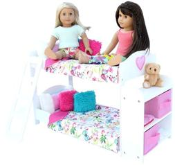 20 Pc. Bedroom Set for 18 Inch American Girl Doll. Includes: