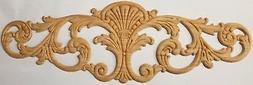 "BIG 18"" Inch Oak Decorative Ornament Wood Ornament filigree"