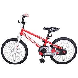 JOYSTAR 18 Inch Kids Bike for 5 6 7 8 9 Years Old Girls & Bo