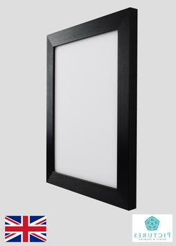 "Black Photo Picture Frame 28mm 5x5"" 5x6"" 5x7"" 5x8 5x9 5x10 5"