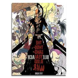 Bleach Dead Rukia Ichigo Fight Japan Anime Art Silk Poster 1