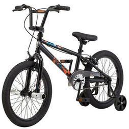 Boys Freestyle BMX Bike, Mongoose Switch, 18-inch wheels, Si