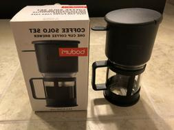 Brand New Bodum One Cup Coffee Maker Pourover Pour Over Coff
