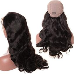 Younsolo Brazilian Body Wave Lace Front Wigs Virgin Remy Hum