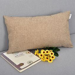 Natus Weaver Breathable Linen Burlap Lumbar Decor Square Thr