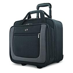 Solo Bryant 17.3 Inch Rolling Laptop Case, Black/Grey, Amazo