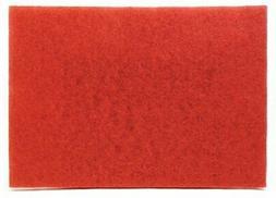 "3M Buffer Pad 5100, Red, 12"" x 18"""