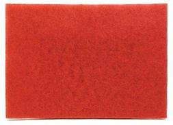 "3M Buffer Pad 5100, Red, 12"" x 18""  / Price is for 1 Case"