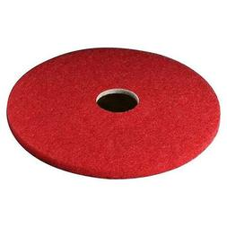 "3M Buffer Pad 5100, 18"", 5/Case, Red"