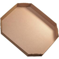 "Box Partners Bulk Bin Lids Octagon 46"" x 38"" x 6"" Kraft 5/Bu"