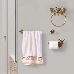 Bird <font><b>Towel</b></font> Ring Carved Toilet Paper Hold
