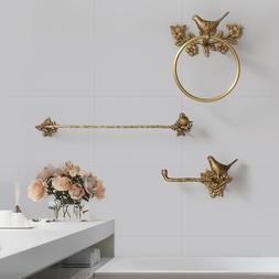 Antique Brass 3pcs <font><b>Bath</b></font> <font><b>Towel</