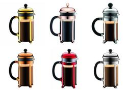 Bodum Chambord Classic French Press Coffee Makers, 6 Colors