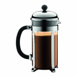 Bodum Chambord French Press Coffee Maker, 34 Ounce, 1 Liter,