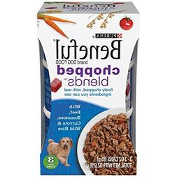 Beneful Chopped Blends with Beef, Tomatoes, Carrots and Wild