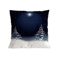 Seaintheson Christmas Decorations Pillows Covers 18x18 Inche