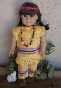 Clothes for 18 inch dolls Native American Outfit