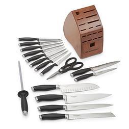Calphalon Contemporary Cutlery 17 Piece Set, Black