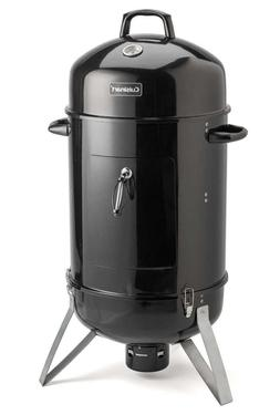 """Cuisinart COS-118DI Vertical 18"""" Charcoal Smoker, Inch, Blac"""
