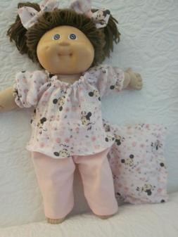 CPK doll clothes/16-18 inch/Minnie Mouse blouse/pink long pa
