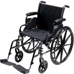 Cruiser III Light Weight Wheelchair with Various Flip Back A