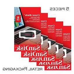 SanDisk 8GB Cruzer Blade USB 2.0 Drive