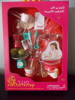 """Our Generation Cute As Pie Kitchen Playset For 18"""" Dolls"""