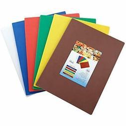 Cutting Boards Winco CBST-1218 Set, 12-Inch By 18-Inch 1/2-I
