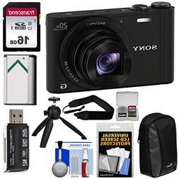Sony Cyber-Shot DSC-WX350 Digital Camera  with 16GB Card + B