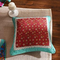 DaDa Bedding Collection Set of Two Real Patchwork Hand-Craft