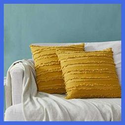 Decor Throw Couch Pillow Covers,Sofa Cotton 18X18 Pillows