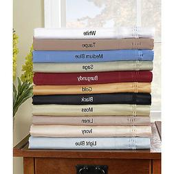 DEEP POCKET FITTED SHEET WITH 2 PILLOW CASE 1000TC EGYPTIAN