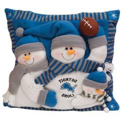 SC Sports Detroit Lions Snowman Family Pillow