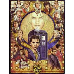 Doctor Who Season 10 TV Series Silk Poster 13x18 24x32 inch