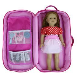 ZITA ELEMENT Doll Travel Case Carrier Backpack   Doll Closet